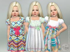 Toddler Dresses Collection P27  Found in TSR Category 'Sims 4 Toddler Female'