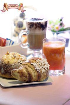Le nostre colazioni! #breakfast di Fantasia Gelati #Napoli