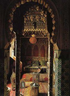 Interior of Ancient Moroccan Home