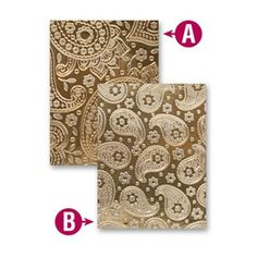 EL-010 Spellbinders PAISLEY Embossing Folder at Simon Says STAMP!