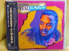 CD/Japan- ALEXANDER O'NEAL Hearsay - All Mixed Up w/OBI RARE 25DP-5376 1988 #ContemporaryRB