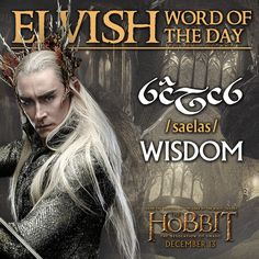 Elvish word of the day
