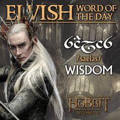 Elvish word of the day