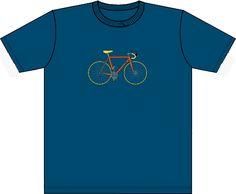 Rennrad in neuer Stofffarbe Blau, Pantone 3025U