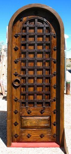 Elaborate wooden door by gigiblack