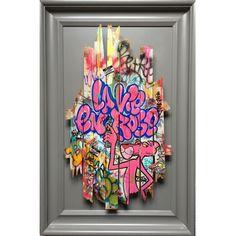 ONEMIZER - La vie en rose Pop Art, Graffiti Wall Art, Grafiti, Artist Aesthetic, Hanging Pictures, Royce, Urban Art, Contemporary Art, Art Photography