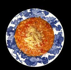 Domestic Sluttery: Sluttishly Savoury: Tomato and Chilli Risotto