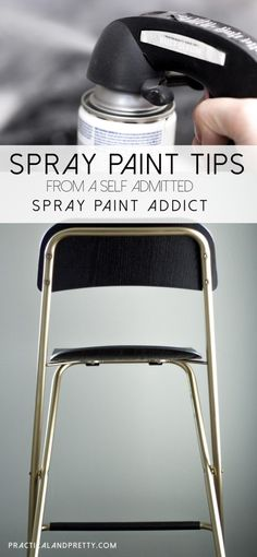 These spray paint tips will get you DIYing like the pros. Spray painting is my favorite way to make old things new again!
