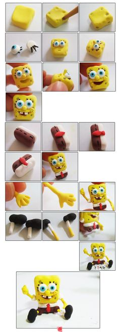clay spongebob