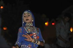 Femme gitane au Rajasthan. Pour plus d'infos consultez http://www.voyageinindia.fr