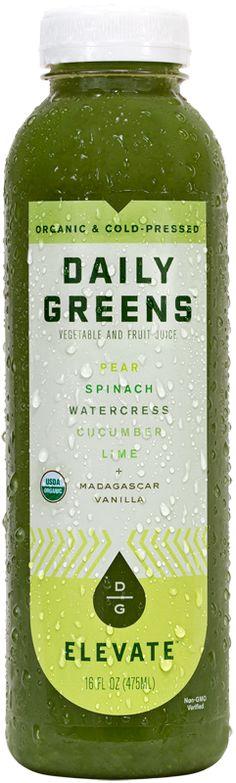 Pear, Spinach, Watercress, Cucumber, Lime + Madagascar Vanilla