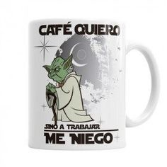 Taza Maestro Yoda Taza Star Wars, Star Wars Crafts, Novelty Mugs, Personalized Tumblers, Work Humor, Handmade Design, Mug Designs, Friends Forever, Boyfriend Gifts