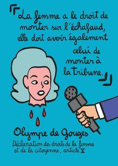Olympe de Gouges. Petite et grande histoire du féminisme en bd