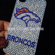 Denver Broncos NFL Bling Phone Case for iphone 4 4S 5 by BlingCC, $42.00