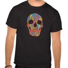 Colorful Skull Tee Shirts  #Skull #Halloween #Tshirt #Tee