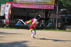 몸저생사 구글블로그: 봉산탈춤보존회 인천수봉공원 신명나는 봉산탈춤 공연사진