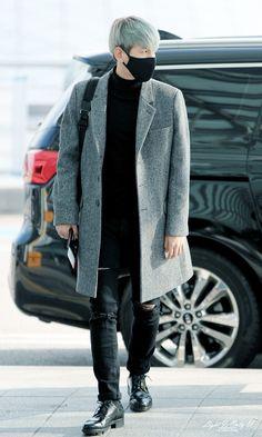 151120 EXO Baekhyun | Incheon Airport to Macau | airport fashion on point❤️