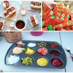 DIY Summer / outdoor party ideas for stress free get togethers. Outdoor Party Foods, Diy Outdoor Party, Outdoor Birthday, Luau Birthday, Outdoor Parties, Barn Parties, Outdoor Food, Birthday Parties, Bbq Party