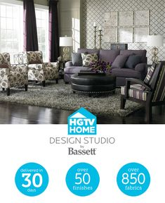Great American Home Store Bassett Furniture And HGTV HOME Are Teaming Up To  Make It All American Furniture Store96