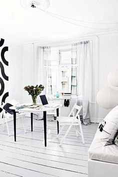 whiter than white living room