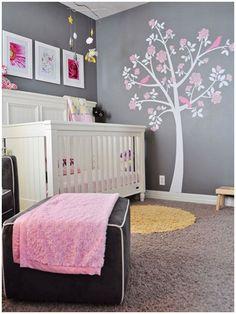 31 Ideas Originales y bellísimas para decorar la habitación de un bebé