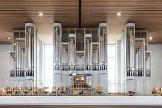 Long fascinated by the design of pipe organs, photographer Robert Götzfried was recently permitted into 20 Catholic churches in southern Germany where he was able to create portraits of these mammoth instruments. When viewed singularly the pipe organ is impressive enough, but collectively the photos