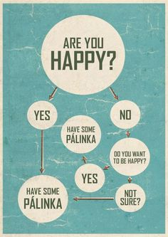 Are you happy? Have some palinka