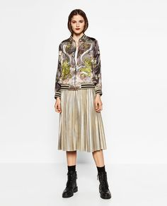 ZARA - COLLECTION AW16 - LIMITED EDITION BOMBER JACKET