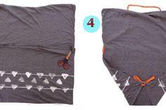 Réalisez un sac fourre-tout à partir d'une taie d'oreiller et sans couture!!!