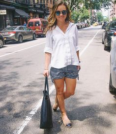 Simple black white and gingham today on Fizz and Fade. #fizzandfadeblog #gingham #wiw #whatiwore