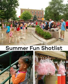 It's Summer!!! From festivals to farmers markets, we've put together a shotlist for documenting summertime fun.