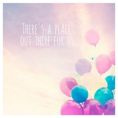 A Place For Us Canvas Print