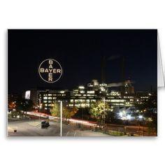 Bayer Cross in Leverkusen Card