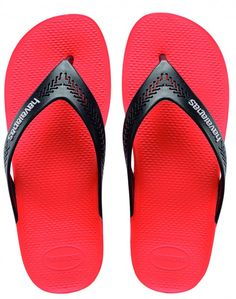 Perfect flip flops to share! Comfy and stylish! Havaianas Wide Strawberry  Color Flip Flop