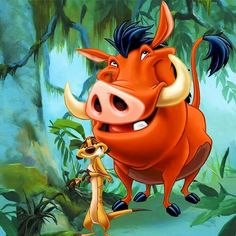 Timon and Pumba...❄