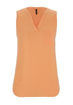 the perfect sleeveless blouse (original price, $26) available at #Maurices