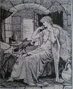 The Blue Bird - The Green Fairy Book by Andrew Lang, 1892