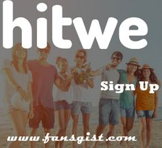 HitWe Sign Up l Login Free Online Dating Site on www.hitwe.com