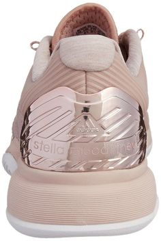 adidas Stella McCartney Barricade Ladies Tennis Shoe, Light Pink, UK8: Amazon.co.uk: Shoes & Bags