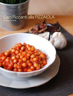 Ceci piccanti alla pizzaiola se ami la cucina vegetariana e ti piacciono i sapori decisi, questo piatto semplice e veloce è quello che fa al caso tuo!