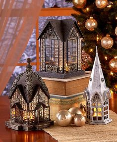 Trim your tree with this Themed LED Lantern Ornament and enjoy a     Sure to spark conversation  the elegant lantern features exquisite details   Use indoors or out with