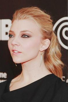 Natalie Dormer: even with her kind of ambitious bitchy look, I like her