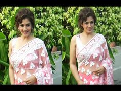 CHECKOUT Raveena Tandon looking STUNNING in sleeveless blouse and transparent saree at an event function. See the video at : https://youtu.be/XX1u2ym3_3g ‪#‎raveenatandon‬ ‪#‎bollywood‬ ‪#‎bollywoodnews‬