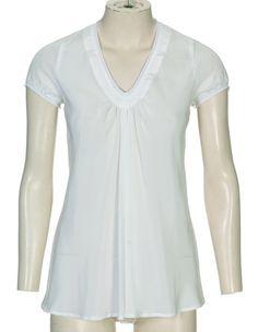 $5.40, draped blouse, pdf pattern