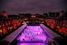 Somerset House Skate rink, London