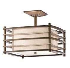 View the Kichler 42097 Moxie 2 Light Semi-Flush Indoor Ceiling Fixture at LightingDirect.com.
