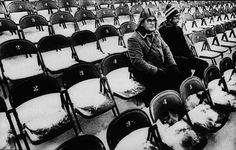 Photographer/Creator  Bruce Bisping  Collection  1978  Publisher  Minneapolis Tribune  Caption/Description  Two well-dressed men arrive very early at Metropolitan Stadium for the Minnesota Vikings/Philadelphia Eagles game. They were among the first into the stadium.