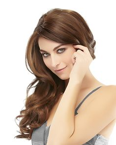 Add fun, blunt bangs or side swept layers for extra thickness along the hairline. Longer sides blend in naturally while HD fiber maximizes heat styling options. Best Wig Outlet, Blunt Bangs, Long Sides, Side Swept, Hairline, Wigs, Fiber, Layers, Take That