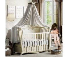 Детская кроватка Baby Italia Andrea VIP Pelle маятник