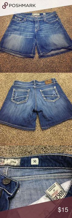 Poshmark resale BKE Stella shorts size 30. They were too small for me. Nothing wrong with them. Longer shorts for more coverage. Very cute!!!! BKE Shorts Jean Shorts